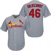 Wholesale Cheap Cardinals #46 Paul Goldschmidt Grey Cool Base Stitched Youth MLB Jersey