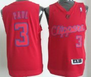 Wholesale Cheap Los Angeles Clippers #3 Chris Paul Revolution 30 Swingman Red Big Color Jersey