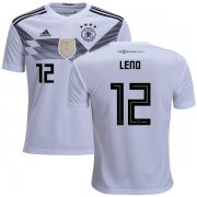 Wholesale Cheap Germany #12 Leno White Home Kid Soccer Country Jersey