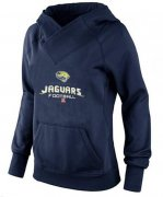 Wholesale Cheap Women's Jacksonville Jaguars Big & Tall Critical Victory Pullover Hoodie Navy Blue