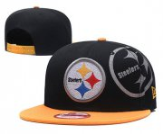 Wholesale Cheap NFL Pittsburgh Steelers Steel City Gray Adjustable Hat