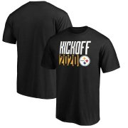 Wholesale Cheap Pittsburgh Steelers Fanatics Branded Kickoff 2020 T-Shirt Black