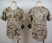 Wholesale Cheap Pirates Blank Camo Cool Base Stitched Youth MLB Jersey