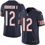 Wholesale Cheap Nike Bears #12 Allen Robinson II Navy Blue Team Color Men's Stitched NFL Vapor Untouchable Limited Jersey