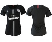 Wholesale Cheap Women's Jordan Paris Saint-Germain Blank Home Soccer Club Jersey