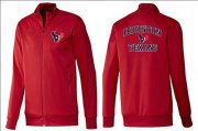 Wholesale Cheap NFL Houston Texans Heart Jacket Red