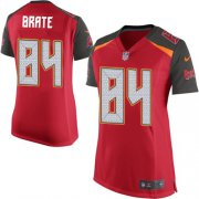 Wholesale Cheap Nike Buccaneers #84 Cameron Brate Red Team Color Women's Stitched NFL New Elite Jersey