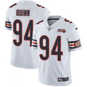 Wholesale Cheap Nike Bears #94 Robert Quinn White Youth Stitched NFL 100th Season Vapor Untouchable Limited Jersey