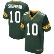 Wholesale Cheap Nike Packers #10 Darrius Shepherd Green Team Color Men's Stitched NFL Vapor Untouchable Elite Jersey