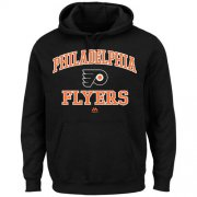 Wholesale Cheap Philadelphia Flyers Majestic Heart & Soul Hoodie Black