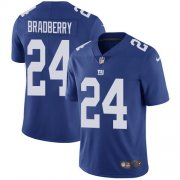 Wholesale Cheap Nike Giants #24 James Bradberry Royal Blue Team Color Youth Stitched NFL Vapor Untouchable Limited Jersey