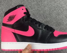 Wholesale Cheap Womens Air Jordan 1 SW Shoes Pink/Black