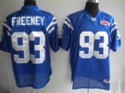 Wholesale Cheap Colts #93 Dwight Freeney Blue With Super Bowl Patch Stitched NFL Jersey