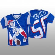 Wholesale Cheap NFL New England Patriots #50 Chase Winovich Blue Men's Mitchell & Nell Big Face Fashion Limited NFL Jersey