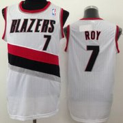 Wholesale Cheap Portland Trail Blazers #7 Brandon Roy White Swingman Jersey
