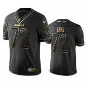 Wholesale Cheap Nike Bears #72 Charles Leno Black Golden Limited Edition Stitched NFL Jersey