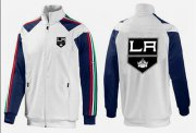 Wholesale Cheap NHL Los Angeles Kings Zip Jackets White-3