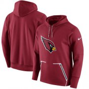Wholesale Cheap Men's Arizona Cardinals Nike Cardinal Champ Drive Vapor Speed Pullover Hoodie