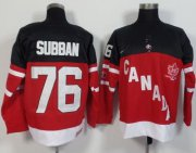 Wholesale Cheap Olympic CA. #76 P.K Subban Red 100th Anniversary Stitched NHL Jersey