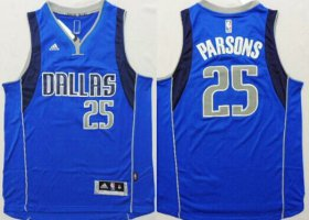 Wholesale Cheap Dallas Mavericks #25 Chandler Parsons Revolution 30 Swingman 2014 New Light Blue Jersey