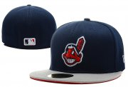 Wholesale Cheap Cleveland Indians fitted hats 04