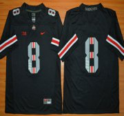 Wholesale Cheap Ohio State Buckeyes 8th Championship Commemorative Black College Football Jersey