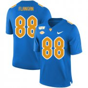 Wholesale Cheap Pittsburgh Panthers 88 Matt Flanagan Blue 150th Anniversary Patch Nike College Football Jersey