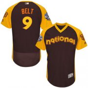Wholesale Giants #9 Brandon Belt Brown Flexbase Authentic Collection 2016 All-Star National League Stitched Baseball jerseys