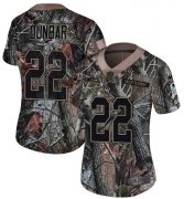 Wholesale Cheap Nike Seahawks #22 Quinton Dunbar Camo Women's Stitched NFL Limited Rush Realtree Jersey