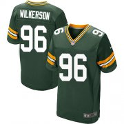 Wholesale Cheap Nike Packers #96 Muhammad Wilkerson Green Team Color Men's Stitched NFL Elite Jersey