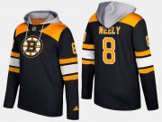 Wholesale Cheap Bruins #8 Cam Neely Black Name And Number Hoodie