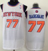 Wholesale Cheap New York Knicks #77 Andrea Bargnani White Swingman Jersey