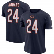 Wholesale Cheap Chicago Bears #24 Jordan Howard Nike Player Pride Name & Number Performance T-Shirt Navy