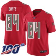 Wholesale Cheap Nike Buccaneers #84 Cameron Brate Red Men's Stitched NFL Limited Rush 100th Season Jersey