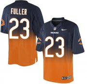 Wholesale Cheap Nike Bears #23 Kyle Fuller Navy Blue/Orange Men's Stitched NFL Elite Fadeaway Fashion Jersey
