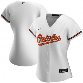 Wholesale Cheap Baltimore Orioles Nike Women\'s Home 2020 MLB Team Jersey White