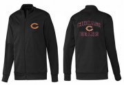 Wholesale NFL Chicago Bears Heart Jacket Black