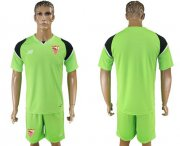Wholesale Cheap Sevilla Blank Green Goalkeeper Soccer Club Jersey