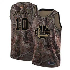 Wholesale Cheap Warriors #10 Tim Hardaway Camo 2019 Finals Bound Basketball Swingman Realtree Collection Jersey