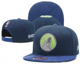 Wholesale Cheap Minnesota Timberwolves Ajustable Cap Hat YD