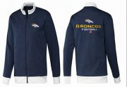 Wholesale Cheap NFL Denver Broncos Victory Jacket Dark Blue_1