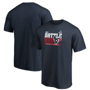Wholesale Cheap Houston Texans 2019 NFL Playoffs Bound Hometown Checkdown T-Shirt Navy