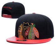Wholesale Cheap NHL Chicago Blackhawks Stitched Snapback Hats 041