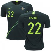 Wholesale Cheap Australia #22 Irvine Away Soccer Country Jersey