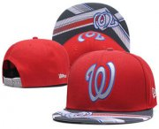 Wholesale Cheap Washington Nationals Snapback Ajustable Cap Hat 7