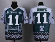 Wholesale Cheap Nike Eagles #11 Carson Wentz Midnight Green Men's Stitched NFL Elite Noble Fashion Jersey