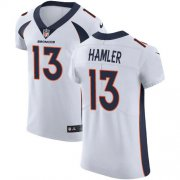 Wholesale Cheap Nike Broncos #13 KJ Hamler White Men's Stitched NFL New Elite Jersey
