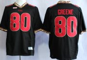 Wholesale Cheap Florida State Seminoles #80 Rashad Greene 2013 Black Jersey