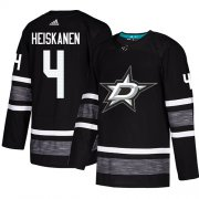 Wholesale Cheap Adidas Stars #4 Miro Heiskanen Black Authentic 2019 All-Star Youth Stitched NHL Jersey