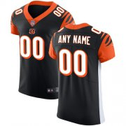 Wholesale Cheap Nike Cincinnati Bengals Customized Black Team Color Stitched Vapor Untouchable Elite Men's NFL Jersey